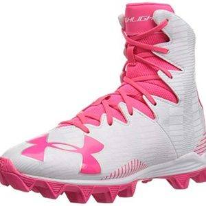 Under Armour Girls' Highlight Rubber Lacrosse 3.5Y